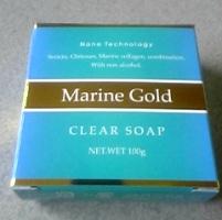 乾燥肌・敏感肌のお悩みに「良質ナノテク透明石鹸 マリンゴールド」
